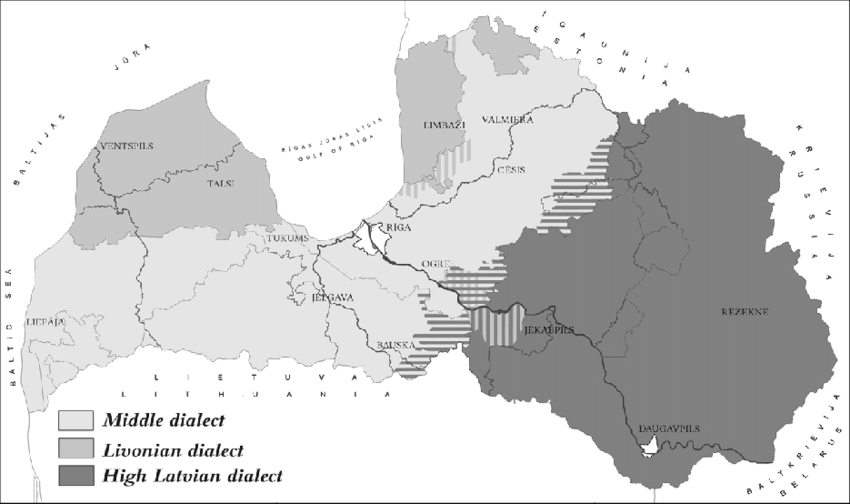 Dialects-of-the-Latvian-language
