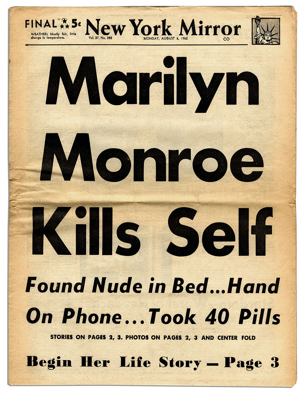 New_York_Mirror_Front_Page_of_August_6,_1962.jpeg
